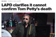 How the Media Accidentally Killed Tom Petty