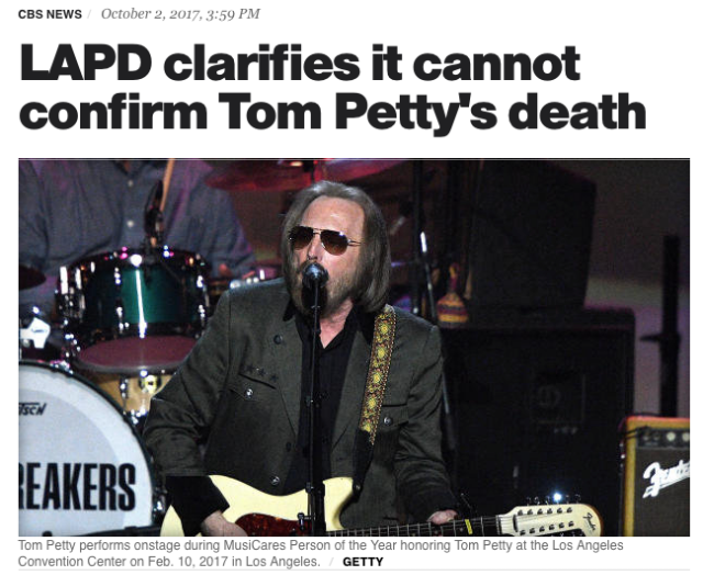 How the Media Accidentally Killed Tom Petty | SPIN