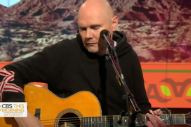Watch William Patrick Corgan Talk New Solo Album, Play Three Songs On <i>CBS This Morning</i>