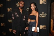 Jhene Aiko Got Big Sean's Entire Face Tattooed on Her Arm