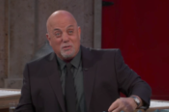 "Watch Billy Joel Impersonate Bruce Springsteen, Perform ""Miami 2017″ On Kimmel"