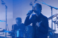 "Watch Depeche Mode Perform ""Cover Me"" on <i>Kimmel</i>"