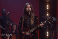 Watch Haim Perform &#8220;Little of Your Love&#8221; on <i>Ellen</i>