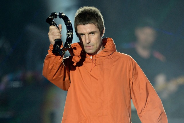 Image result for Liam Gallagher tambourine