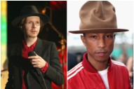 Beck Might Be Responsible for Pharrell's Gigantic Hat