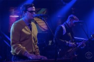 Watch Weezer Perform &#8220;Happy Hour&#8221; on <i>Colbert</i>