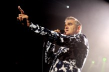 Morrissey Performs At Hollywood High School With Kristeen Young