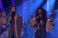 Watch SZA and Maroon 5 Perform &#8220;What Lovers Do&#8221; on <i>Fallon</i>