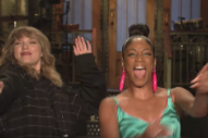 Watch Taylor Swift and Tiffany Haddish Talk About <i>Reputation</i> in New <i>SNL</i> Promo Clip