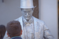 Trent Reznor Acknowledges Theory He Played A Living Statue On <i>Curb Your Enthusiasm</i>