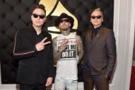 Watch Blink-182 Serenade Steve Aoki at His 40th Birthday Party