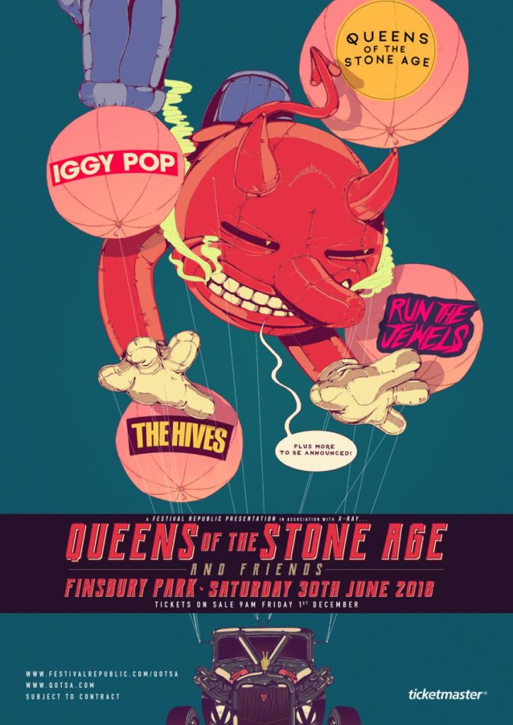 Queens of the Stone Age Announce London Festival Lineup