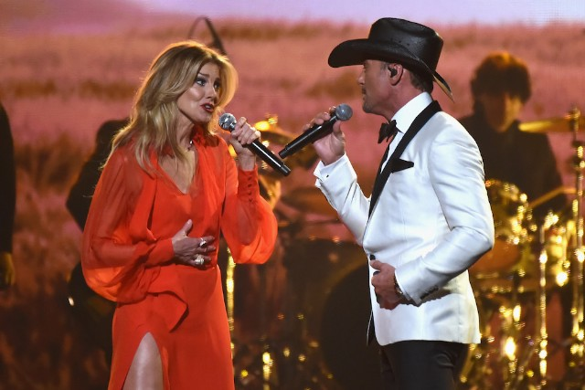Tim McGraw and Faith Hill support gun control