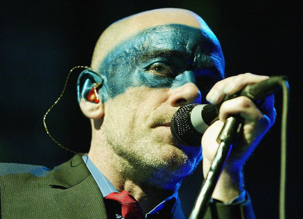 REM In Concert At Burswood Dome In Perth