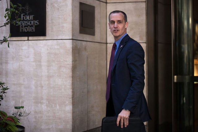 Former Trump campaign manager addresses sexual harassment claims in weird interview