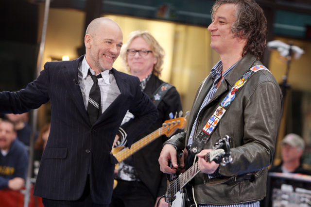 R.E.M. Performs On NBC's