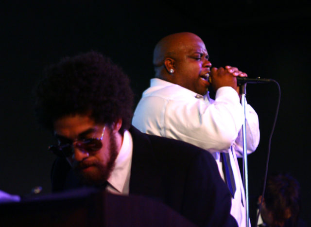 Gnarls Barkley Performs At The Apple Store In Soho