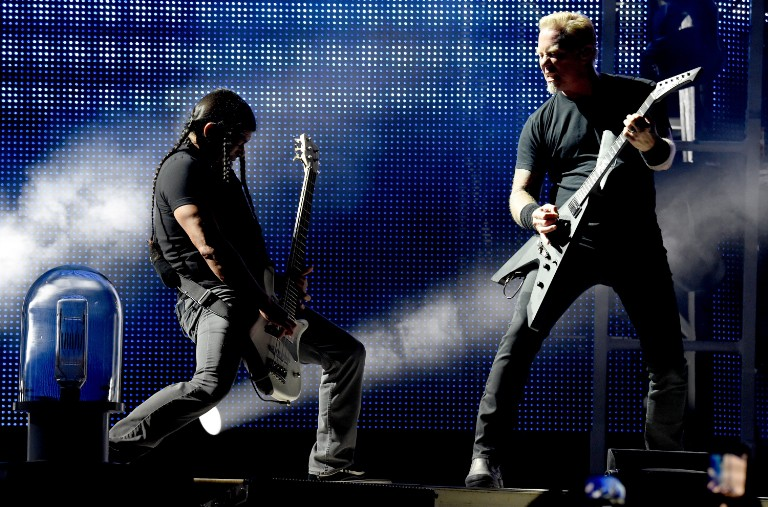 Metallica Performs At The Rose Bowl