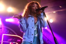 SZA Performs At Ace Of Spades