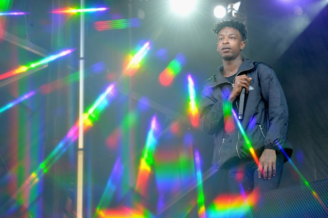 21 Savage performs at The Meadows Music And Arts Festival - Day 1
