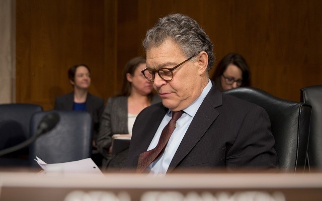 Several Democratic senators to Al Franken: Resign