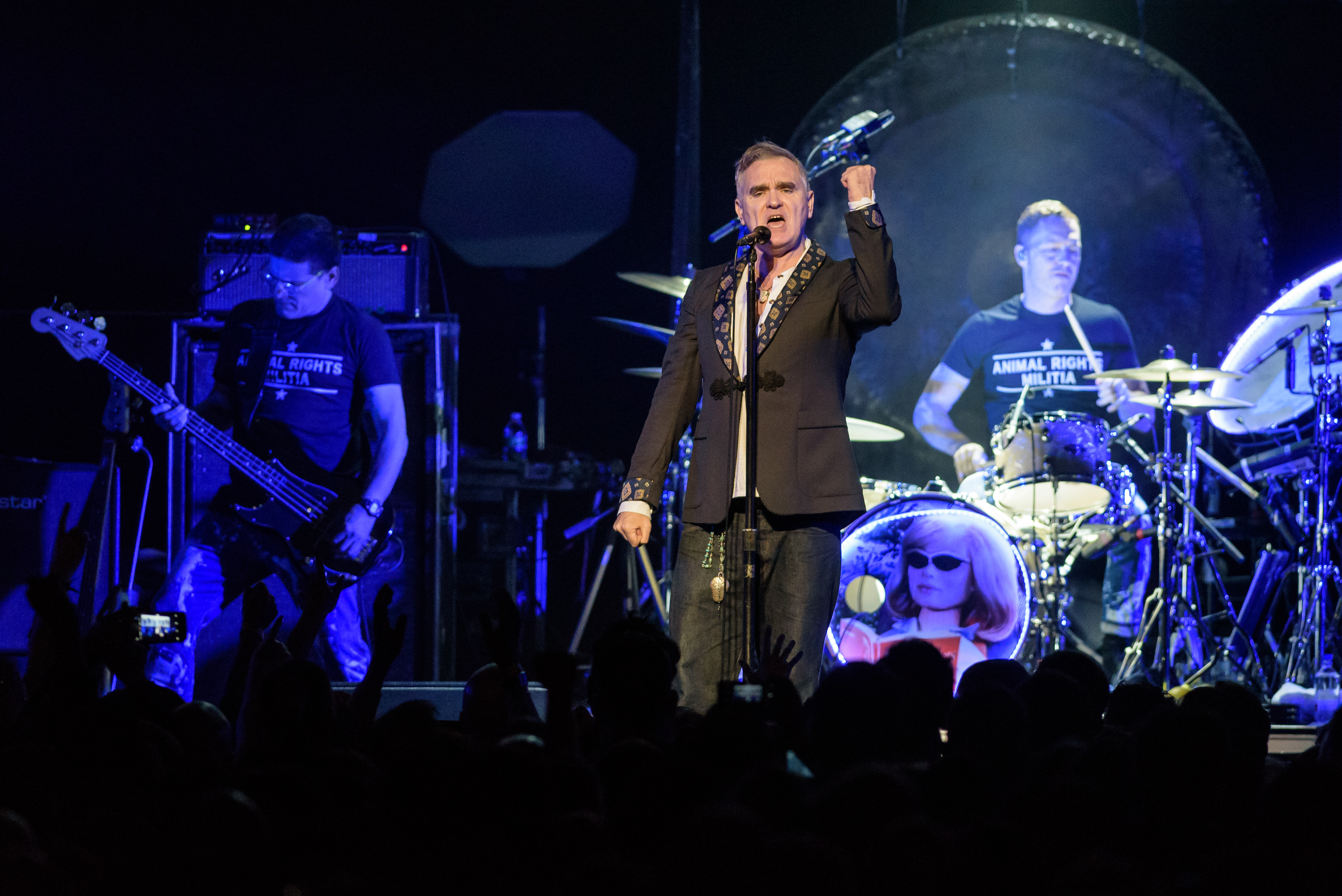Morrissey Performs at The Anthem in Washington, D.C.