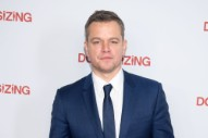 "Matt Damon Thinks We Need to ""Correct"" the ""Culture of Outrage"" Over Sexual Harassment"
