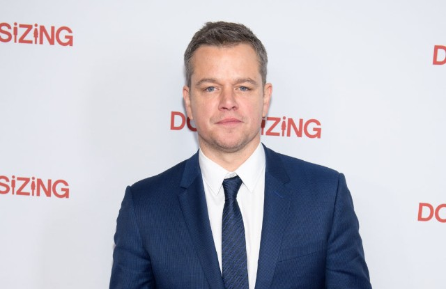 Matt Damon Gave a Controversial Interview About Sexual Harassment in Hollywood