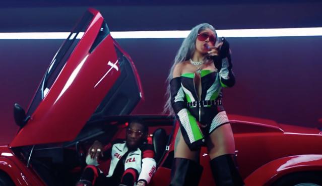 Cardi B Motorsport >> Video Migos Motorsport Ft Nicki Minaj Cardi B Spin