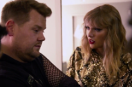 Taylor Swift Plays Mean Girl in James Corden Skit on <i>The Late Late Show</i>