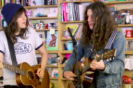 Watch Courtney Barnett and Kurt Vile's NPR Tiny Desk Concert