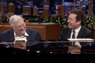 Watch Randy Newman Play &#8220;Short People,&#8221; Talk About Writing <i>Three Amigos</i> on <i>Fallon</i>