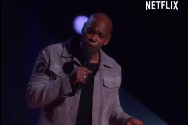 Watch a clip from Dave Chappelle's forthcoming Netflix special