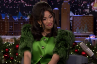 Jimmy Fallon Couldn&#8217;t Quite Handle Cardi B During Their <i>Tonight Show</i> Interview