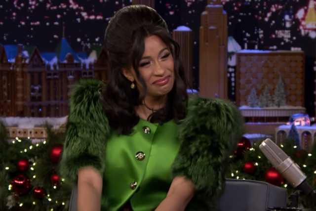 Jimmy Fallon Couldn't Quite Handle Cardi B During Their