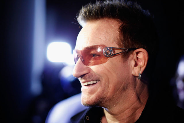 Bono says music is very girly now