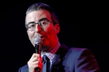 John Oliver grills Dustin Hoffman over sexual misconduct allegations