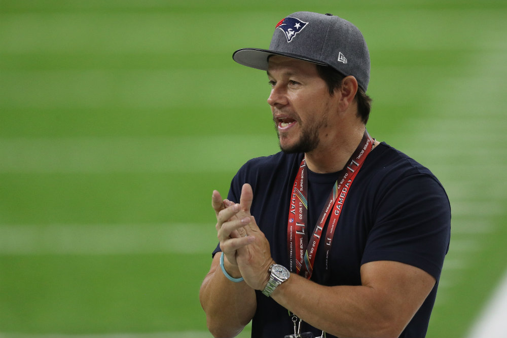 Mark Wahlberg left Super Bowl early because of son's tantrum
