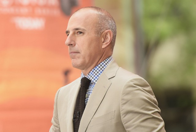 Matt Lauer doesn't get a payout from NBC