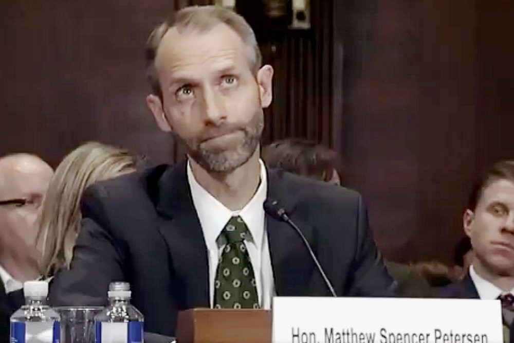 Trump judicial nominee Matthew Spencer can't answer basic legal questions