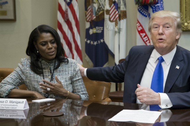 Omarosa Manigault Newman dragged from White House by security