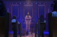 "Watch St. Vincent Perform ""Slow Disco"" in a Fake Church On <i>Fallon</i>"