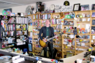 Watch Ted Leo Perform Solo for NPR's Tiny Desk Concert