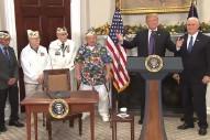 """Donald Trump Calls Pearl Harbor a """"Pretty Wild Scene"""""""