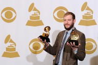 "Bon Iver on Bruno Mars' Grammy Wins: ""You Absolutely Have to be Shitting Me"""