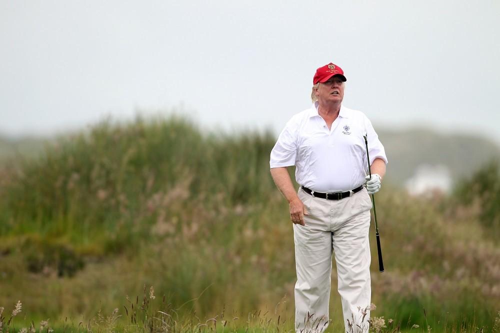 The Trump International Golf Links Course Opens