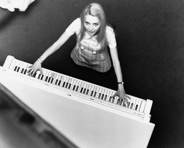 France Gall Playing The Piano