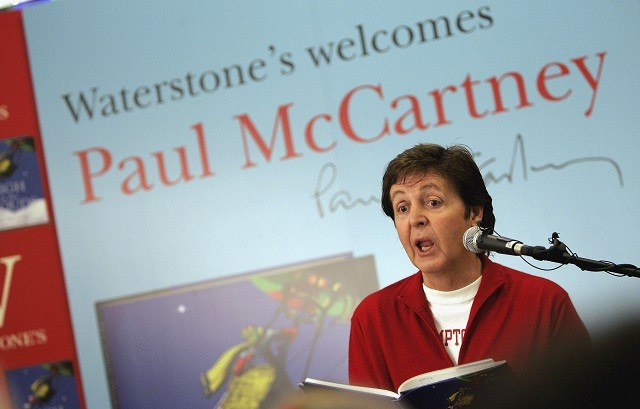 Sir Paul McCartney - Book Signing