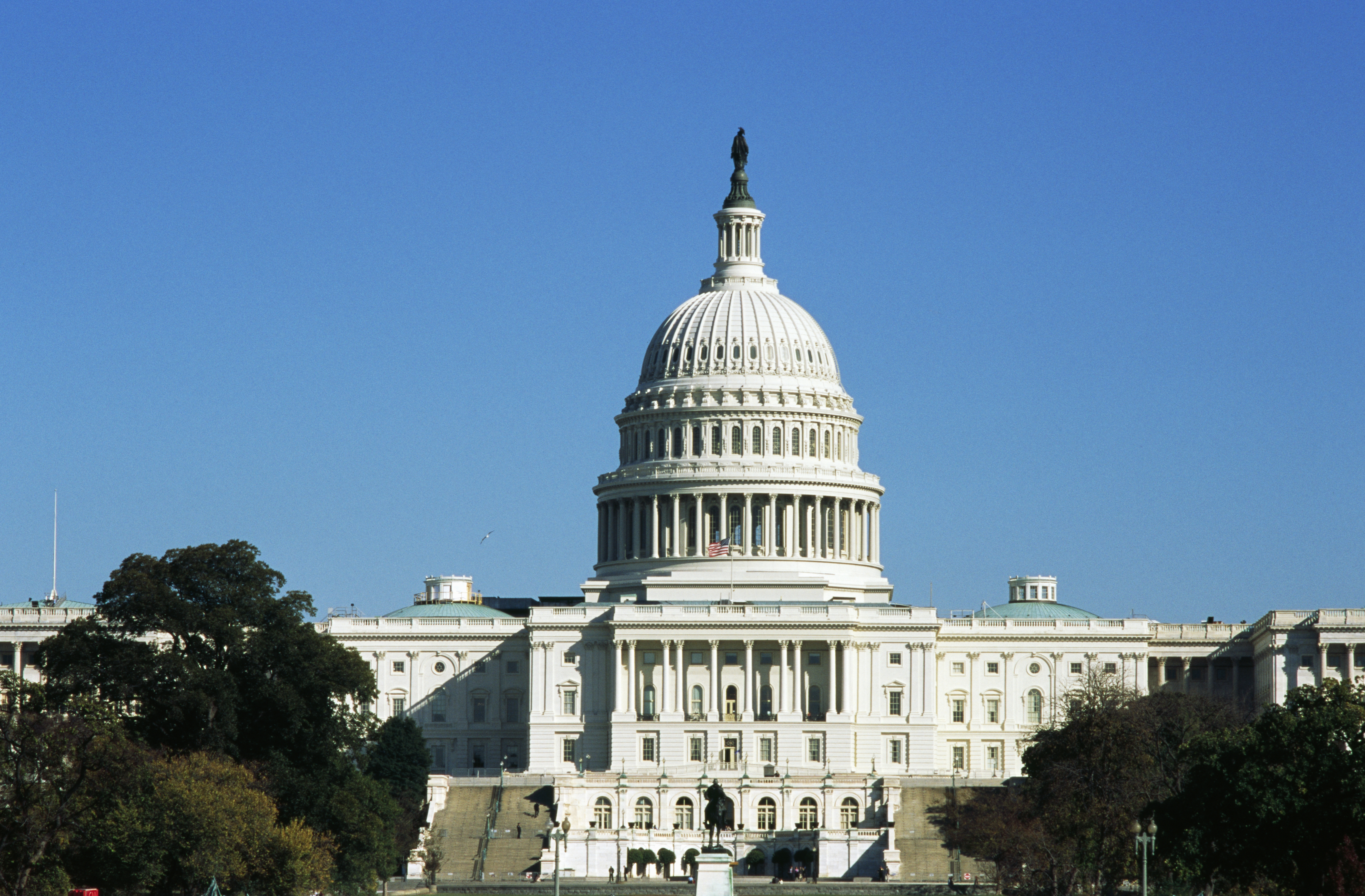 The Capitol, seat of the United States Congress