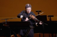 "Laurie Anderson and Kronos Quartet – ""The Water Rises"" / ""Our Street Is A Black River"""